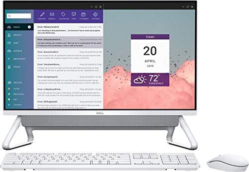 Dell Inspiron 24 5490 AiO - 23.8' FHD Touch - i7-10510U - 16GB - 512GB SSD - Silver
