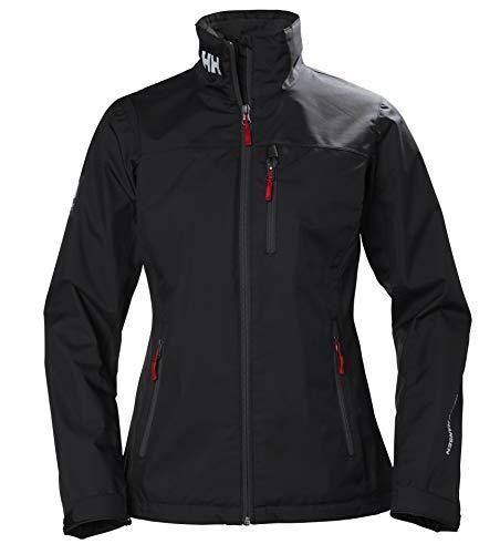 Helly Hansen W Crew Midlayer Jacket Chaqueta Deportiva, Mujer, Negro, XS