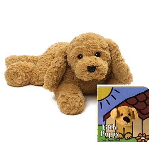 GUND Muttsy Dog Stuffed Animal Plush, Beige, 14' Gift Set