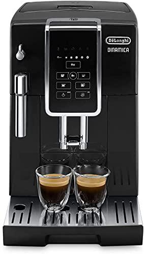DeLonghi ECAM 350.15.B Macchina da caffè automatica, capacità 2 tazze, Nero, Display LCD