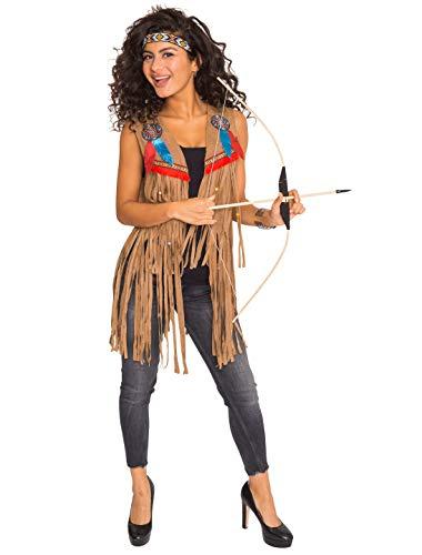 Wilbers NEU Damen-Weste Indianerin mit Fransen, Gr. 42-44