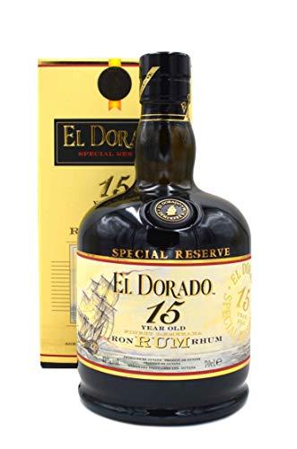 El Dorado 15 Jahre - 0,7l - Brauner Rum Special Reserve aus Guyana