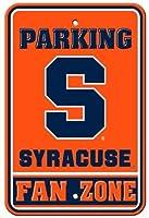 なまけ者雑貨屋 NCAA Syracuse Orange Parking ブリキ 看板 アメリカン ダイナー レトロ ヴィンテージ インテリア 雑貨 壁掛け
