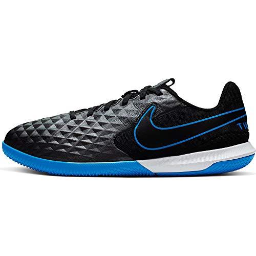 Nike Legend 8 Academy IC, Zapatillas de Fútbol Niños, Negro (Black/Black/Blue Hero 004), 31 EU