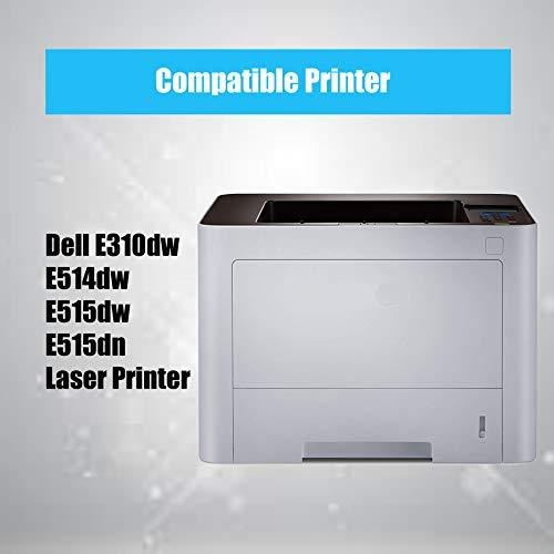 (3-Pack, Black) 4Benefit Compatible Toner Cartridge Replacement for Dell E310 E515 Used for Dell E310dw E515dw E514dw E515dn E310 E514 E515 Printers Photo #3