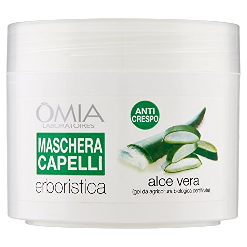 Omia Maschera Capelli Erboristica Aloe Vera - 250 ml