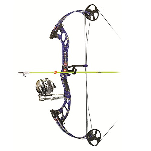 Precision Shooting Equipment Mudd Dawg Bowfishing Package with Muzzy Kit, Left