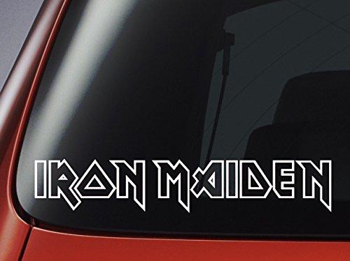 Aufkleber Iron Maiden,Vinyl, fürAuto, Fenster, Wand, Laptop
