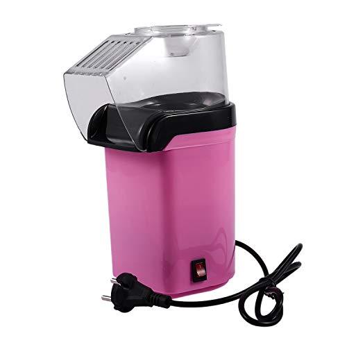 TOOGOO Vintage Retro Elektrische Popcorn Popper Maschine Haus Party Werkzeug 220 V Rosa Eu Stecker