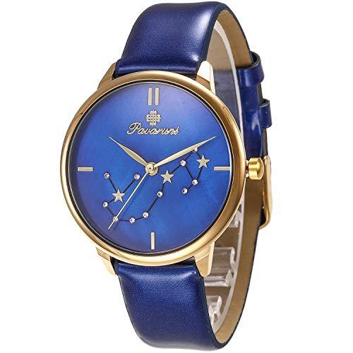 Pavaruni Original 12 Constellation Galaxy Uhr, Mitternacht Planetarium Universum Planet Sternenhimmel Sternzeichen (10_Scorpio/Skorpion)