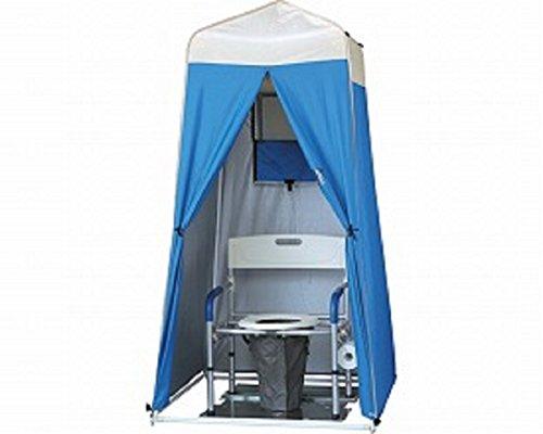【トイレ用品】災害用マンホールトイレ 洋式ワイドタイプ 大型 テントSタイプ ◆ [VE100W/PTAS]