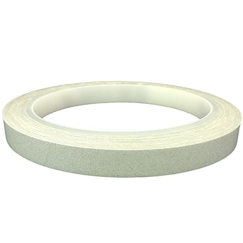 DonDo 3M 610C Reflektierendes Klebeband Reflexfolie Konturmarkierung Silber 10mm x 10m