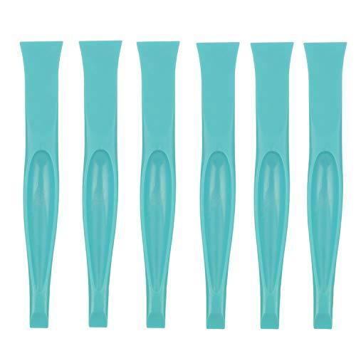 Plastic Multipurpose Stiff Scraper Scratch Free Cleaning Tool Label Scraper Gum Scraper Bottle Opener Can Opener (6 PaCK)