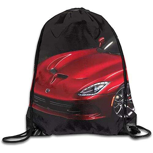 Medsforu DOD-Ge V-Iper Novelty Drawstring Backpack Cordes Sacs Gym Pack