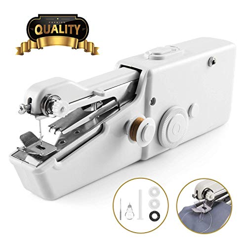 Handheld Sewing Machine, Cordless Handheld Electric Sewing Machine,...