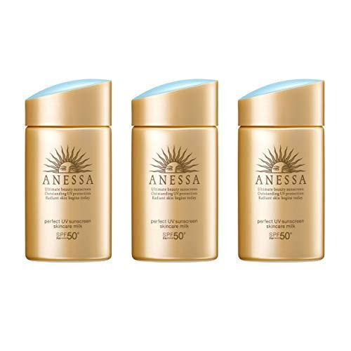 ANESSA(アネッサ) パーフェクトUV スキンケアミルク a 日焼け止め シトラスソープの香り 60mL(3個セット)