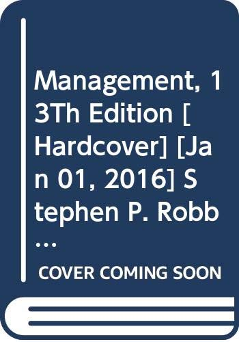 Management, 13Th Edition