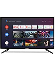 """E:MAX E320HXA Android TV 32 inch 81 cm (HD LED 32"""" Smart TV, Triple Tuner, Android TV 9.0 Pie, Google Assistant, Google Play, Prime Video en Netflix) Wi-Fi"""