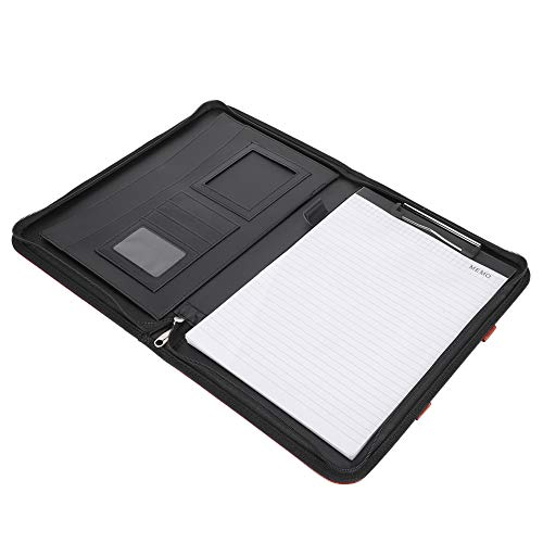 Pasta de couro PU, pasta de armazenamento Projetos de vários cartões duráveis para uso comercial