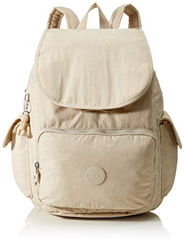 Kipling City Pack, Backpacks Donna, Dynamic Avorio, 18.5x32x37 cm