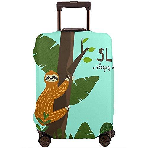 Carneg Reisegepäck-Abdeckung, die an der Baum-schläfrigen Koffer-Abdeckungs-Schutzvorrichtung hängt, passt 22-24 Zoll-Gepäck-Gepäckabdeckung
