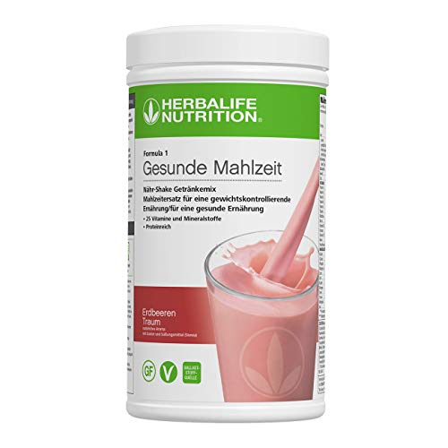 HERBALIFE NUTRITION Nutritional Shake Mix F1 Strawberry Delight 550 g