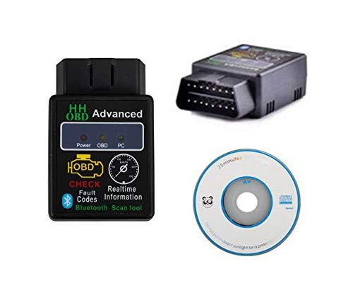 ELM327 OBD2 OBDII Bluetooth V2.1 Auto Diagnose Scanner Adapter Android Werkzeug