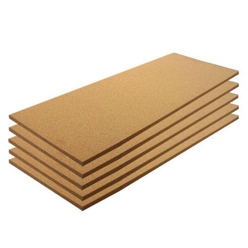 Cork Sheet Plain 12' X 36' X 1/4' - 5 Pack
