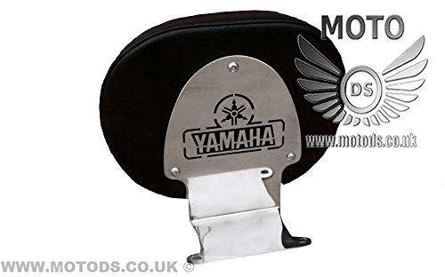 Motocicleta de acero inoxidable conductor Rider respaldo Yamaha XV 1900Midnight
