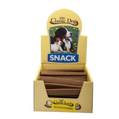 Classic Dog 40270 Big Sticks Pute und Gemüse 50-er