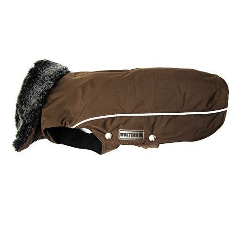 WOLTERS Winterjacke Amundsen für Dackel versch. Größen und Farben, Größe:46 cm, Farbe:Kastanie