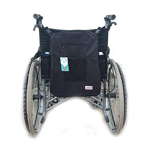 GHzzY rolstoeltas voor rugleuning – Oxford Cloth rolstoel rugzak voor de meeste rolstoelen – universele rolstoel-accessoiretas
