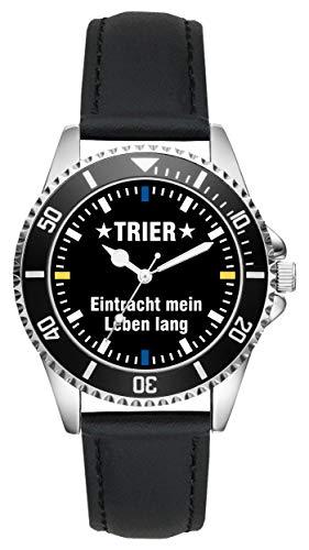 Trier Eintracht Geschenk Artikel Idee Fan Uhr L-2560