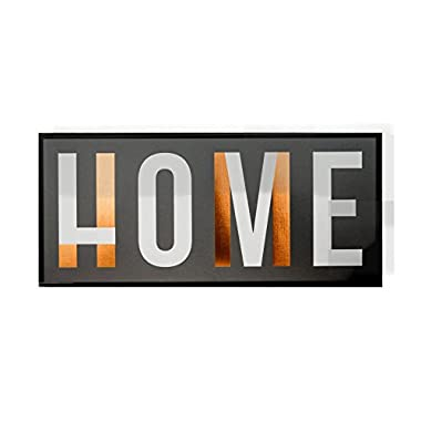 Marie & Boone Metal Wall Decor Decorative Sign Metal Frame Love Home Copper Foil - the Best Part of Home is Finding Love