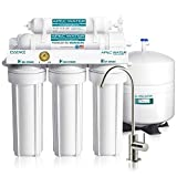 APEC Water Systems ROES-50 Essence Series Top Tier 5-Stage Certified Ultra Safe Reverse Osmosis Drinking Water...