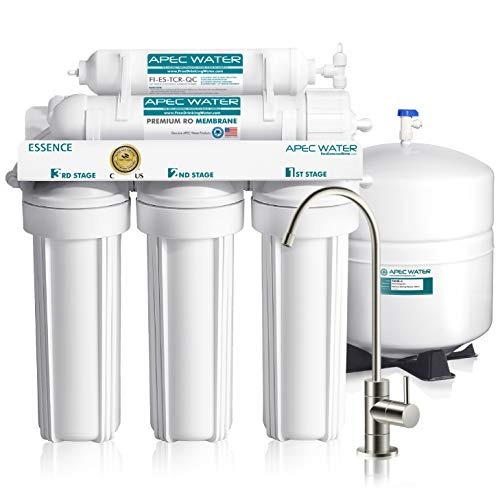 APEC 5-Stage Reverse Osmosis Water Filter System (ESSENCE ROES-50)
