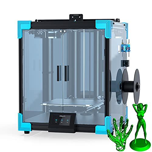 Creealidad Ender-6 Impresora 3d Impresión Ultra-silenciosa 3 Veces La Velocidad De Impresión Con Estructura De Núcleo Estable, Estructura De Cristal De Carborundum Templado Y Currículum, Función De Im