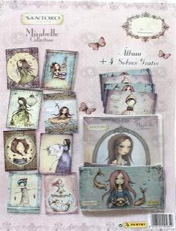 Álbum Mirabell Collection Santoro + 4 Sobres