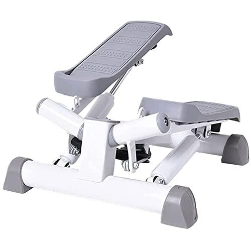 FHISD Mini Stepper, Macchina per la Forma Fisica della casa, la visualizzazione del Cilindro Idraulico Portatile Regolabile, i Pedali Anti-Skid dei Piedi, Facili da Usare per Adulti e Adolescenti