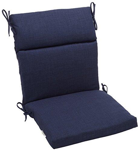 Blazing Agujas interior/exterior Spun Poly (por 45-Inch por 3–1/2-inch Cojín de silla de 3