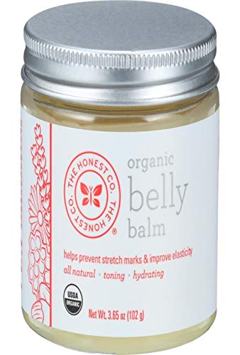honest company organic belly balm - 1