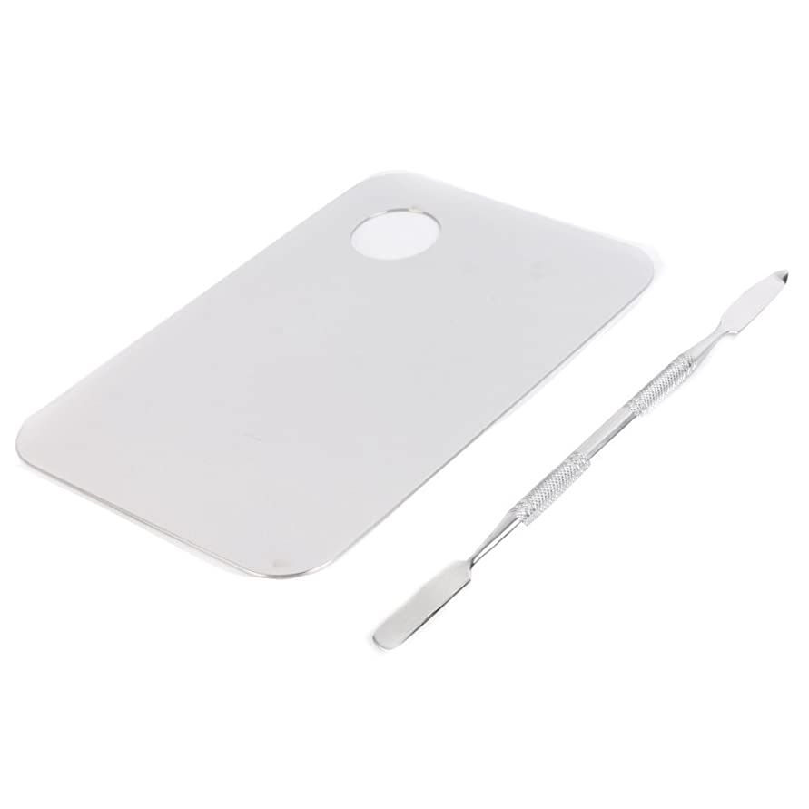 彫る余剰スラダム1st market プレミアム 人気 ステンレスのメイクアップのパレット 便利