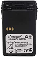 JMNN4023 JMNN4024 1800mAh Li-ion Battery Compatible for Motorola PRO5150 Elite PRO7150 Elite EX500 EX560 EX560XLS EX600 EX600XLS GL2000 GP328 Plus GP338 Plus PTX700 Plus PTX760 Plus Two Way Radio