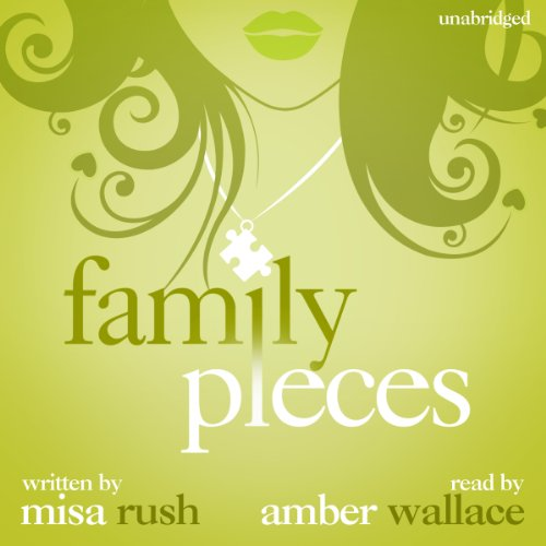 Family Pieces audiobook cover art