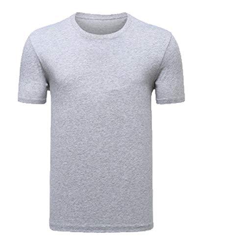 Mr.BaoLong&Miss.GO Camiseta De Cuello Redondo De Algodón para Hombres Sudadera para Hombres Camiseta Cómoda De Gran Tamaño Las Camisetas De Gama Alta para Hombres Se Pueden Personalizar con