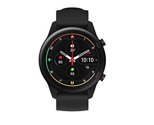 Xiaomi Mi Watch, Smartwatch, 1,39 Zoll AMOLED HD Display, bis zu 16 Tage Laufzeit, integriertes GPS, 117 Fitness-Modi, schwarz, italienische Version