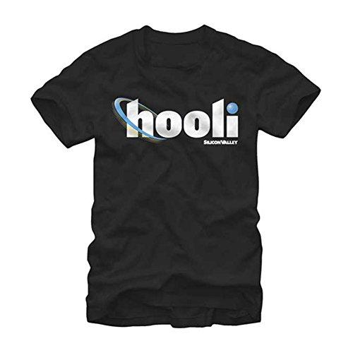 Silicon Valley Camiseta de manga corta con logo Hooli para hombre...