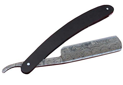 Damast Rasiermesser Antik Look Damaszener Messer EI-22