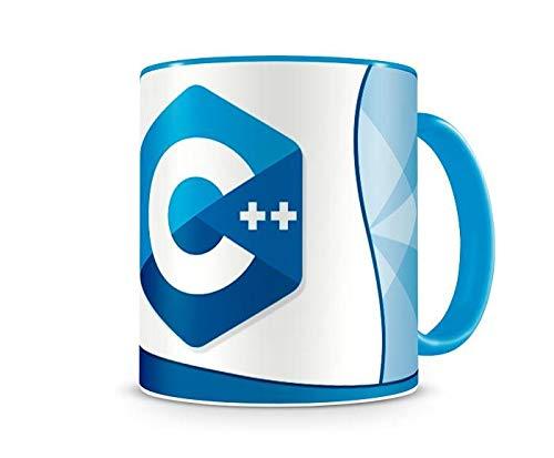 Caneca Linguagem C++ color Azul