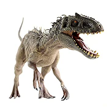 Gemini&Genius Dinosaur World Super Colossal Indominus Rex with Movable Mouth Realistic Tyrannosaurus Rex Figurine Berserker-Rex Christmas and New Year Gift for Kids Super D-Rex